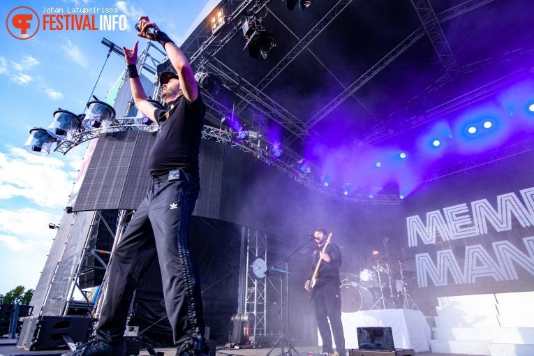 Memphis Maniacs op Pop on Top 2019 foto
