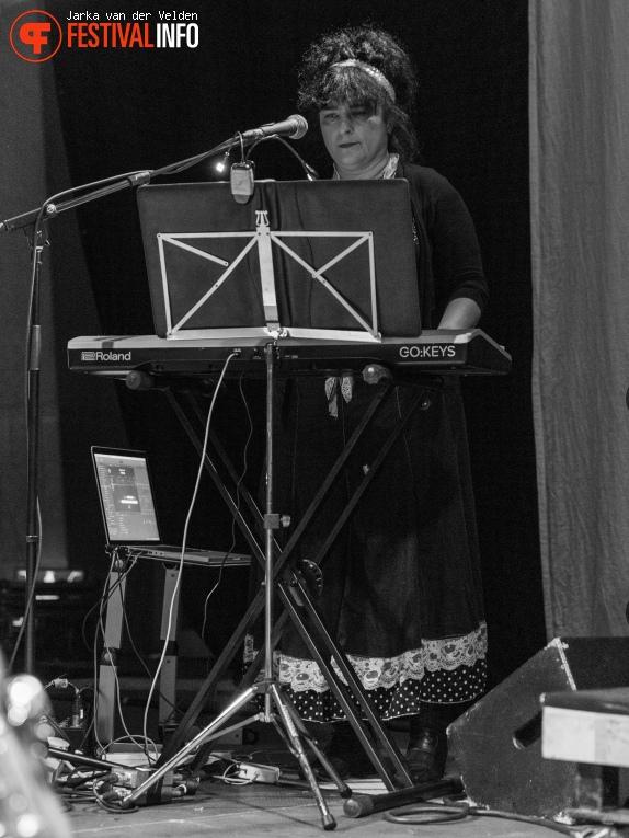 Lene Lovich Band op Wave Gotik Treffen 2019 foto