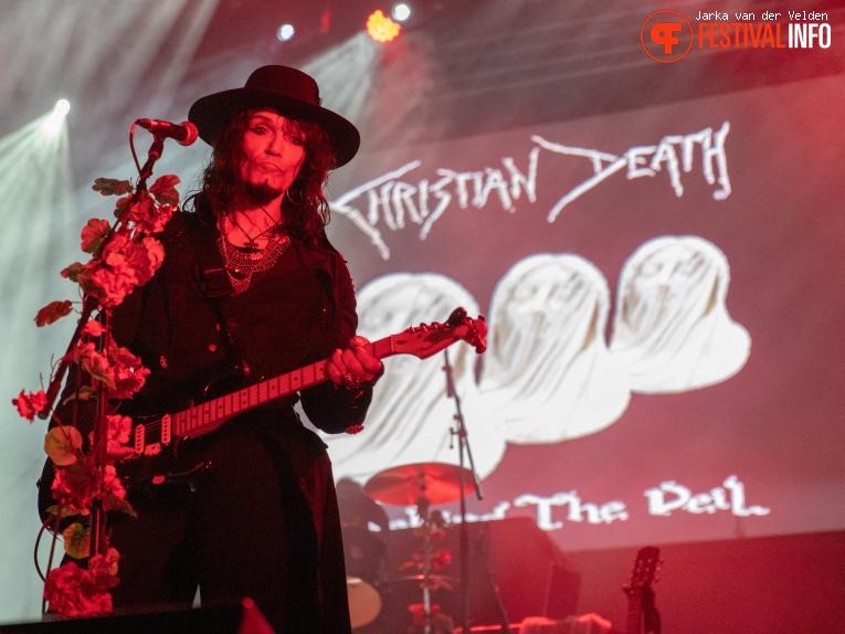 Christian Death op Wave Gotik Treffen 2019 foto