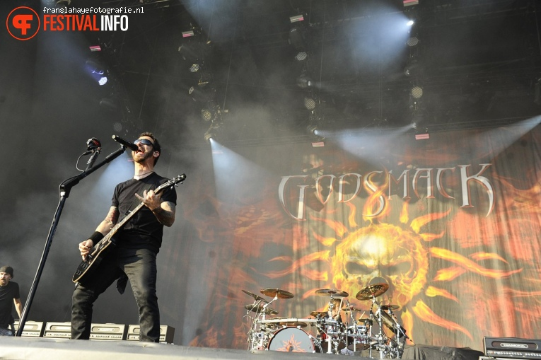 Foto Godsmack op Graspop Metal Meeting 2019 - Zaterdag