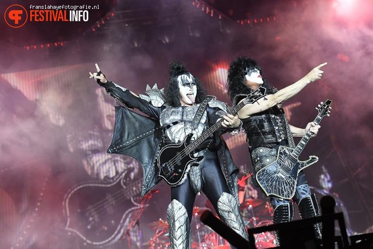 Kiss op Graspop Metal Meeting 2019 - Zondag foto