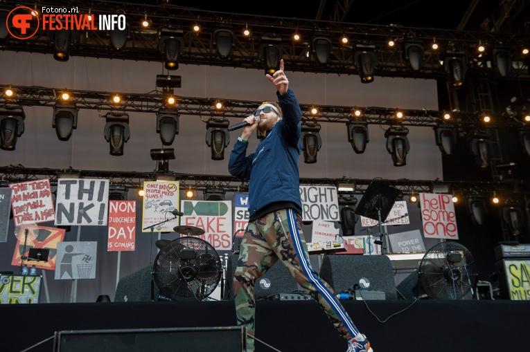 Arjen Lubach op Stadspark Live 2019 foto