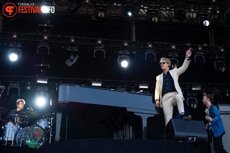 Tom Odell op Stadspark Live 2019 foto