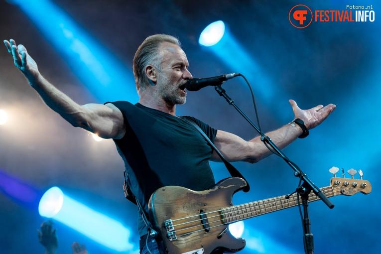 Sting op Stadspark Live 2019 foto