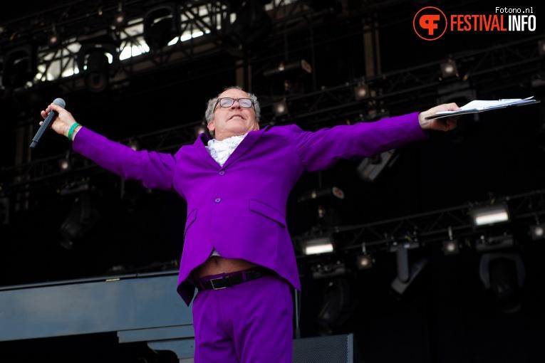 Bert Visscher op Stadspark Live 2019 foto