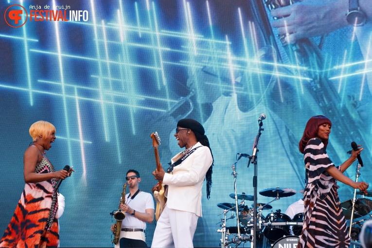 Nile Rodgers & Chic op Parkpop Saturday Night 2019 foto