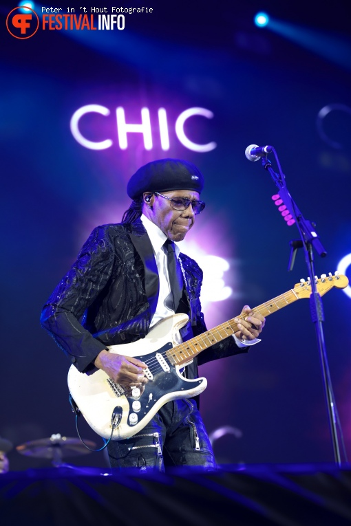 Foto Nile Rodgers & Chic op Concert at Sea 2019 Vrijdag