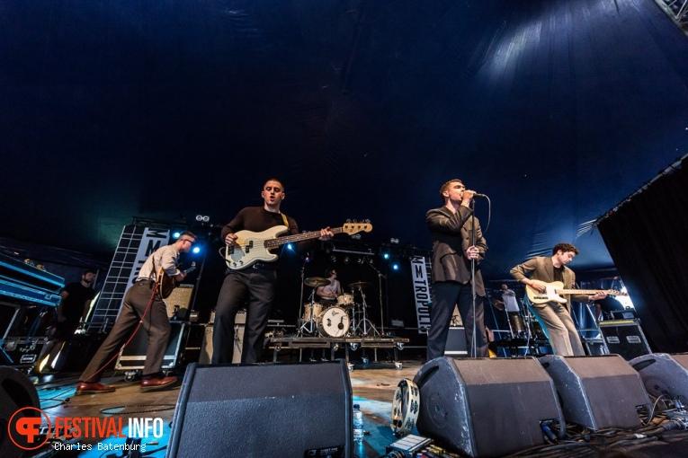 The Murder Capital op Metropolis Festival 2019 foto