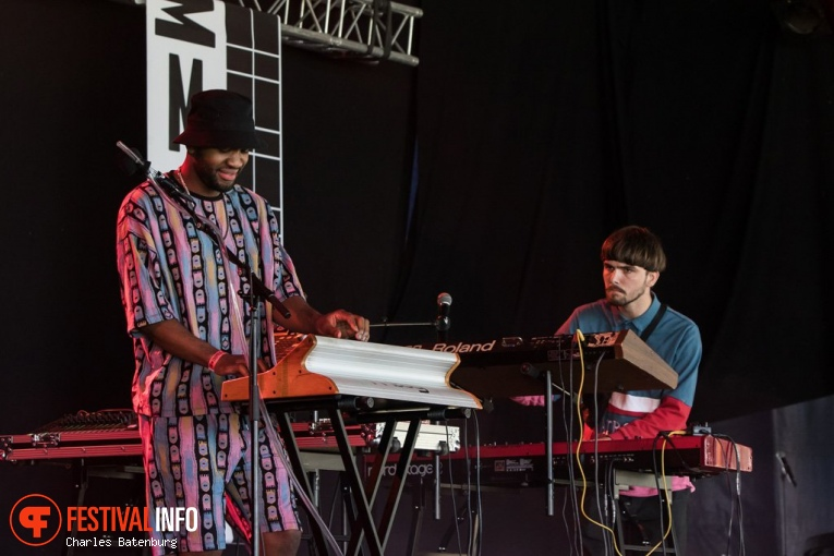 Dwayne Franklin & Daddy Jacob op Metropolis Festival 2019 foto