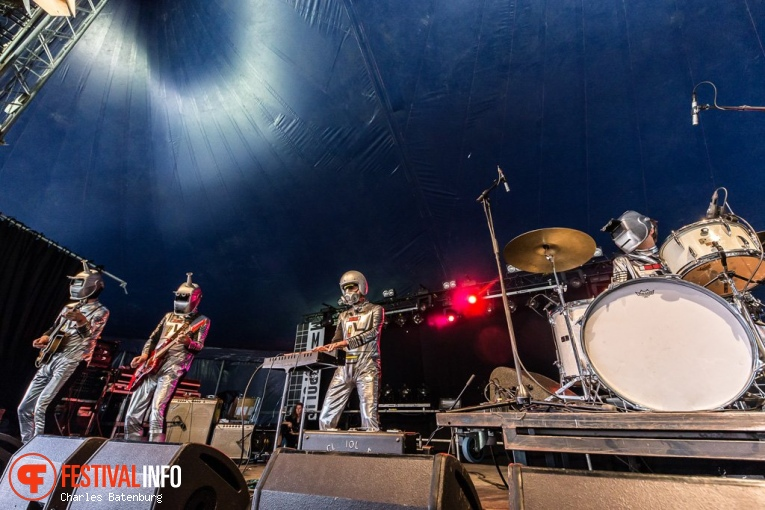 Les Robots op Metropolis Festival 2019 foto