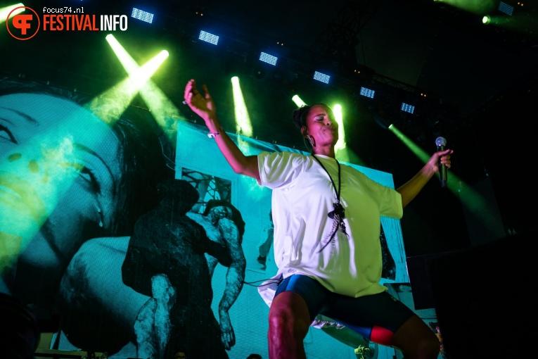 Neneh Cherry op Down the Rabbit Hole 2019 - vrijdag foto