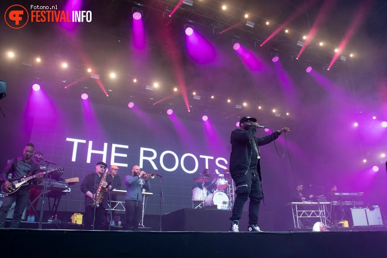 The Roots op Down the Rabbit Hole 2019 - zaterdag foto