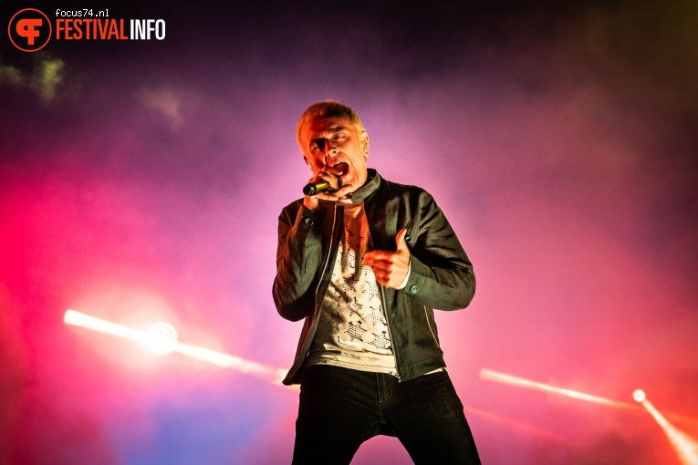 Underworld op Down the Rabbit Hole 2019 - zaterdag foto