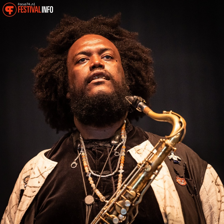 Kamasi Washington op Down the Rabbit Hole 2019 - zaterdag foto