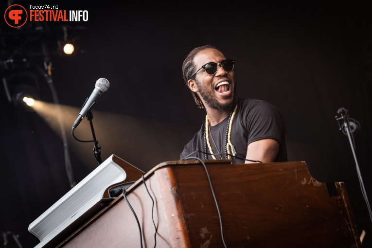 Cory Henry & The Funk Apostles op Down the Rabbit Hole 2019 - zaterdag foto