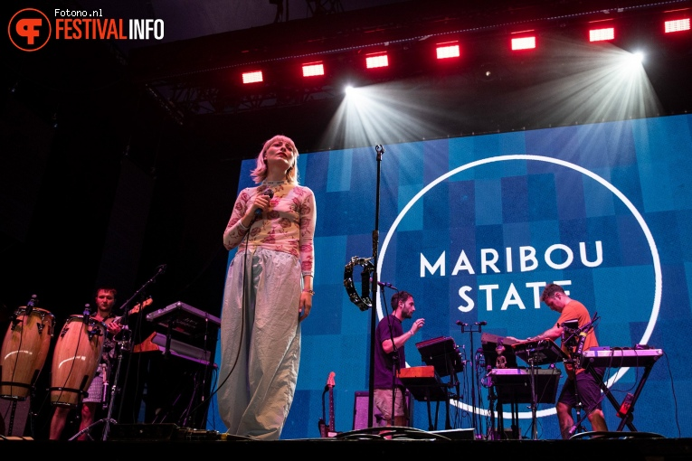 Maribou State op Down the Rabbit Hole 2019 - zaterdag foto