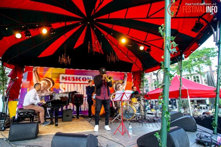 Georgios Tsolis Trio op Summertime Festival 2019 foto
