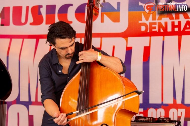 Nuno Torres Marques Quintet op Summertime Festival 2019 foto