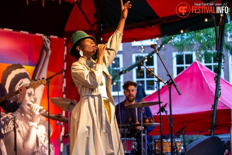 Sabrina Starke op Summertime Festival 2019 foto