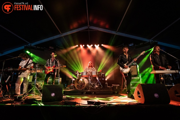 Foto The Mauskovic Dance Band op Down The Rabbit Hole 2019 - zondag
