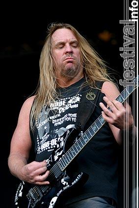 Foto Slayer op Dynamo Open Air 2004