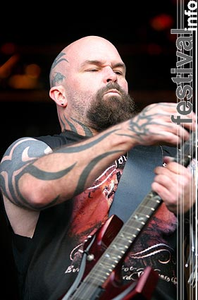 Foto Slayer op Dynamo Open Air 2004