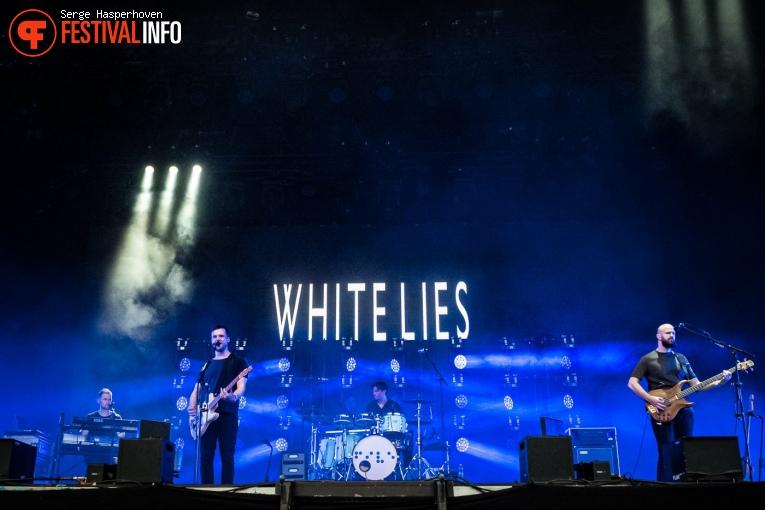 White Lies op Zwarte Cross Festival 2019 foto