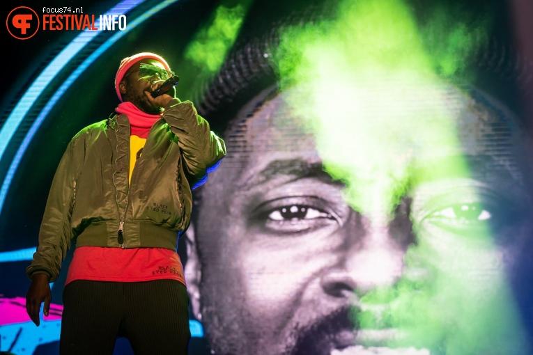 Black Eyed Peas op Zwarte Cross Festival 2019 foto