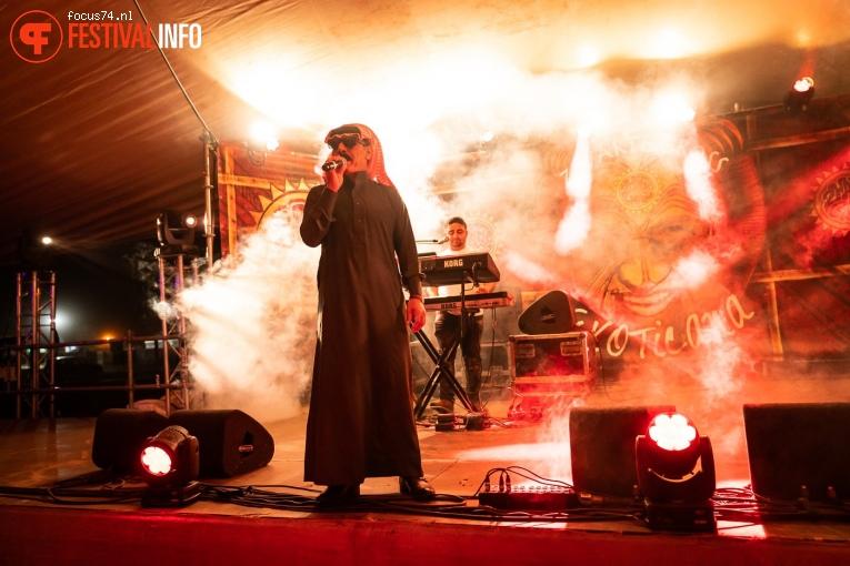 Omar Souleyman op Zwarte Cross Festival 2019 foto