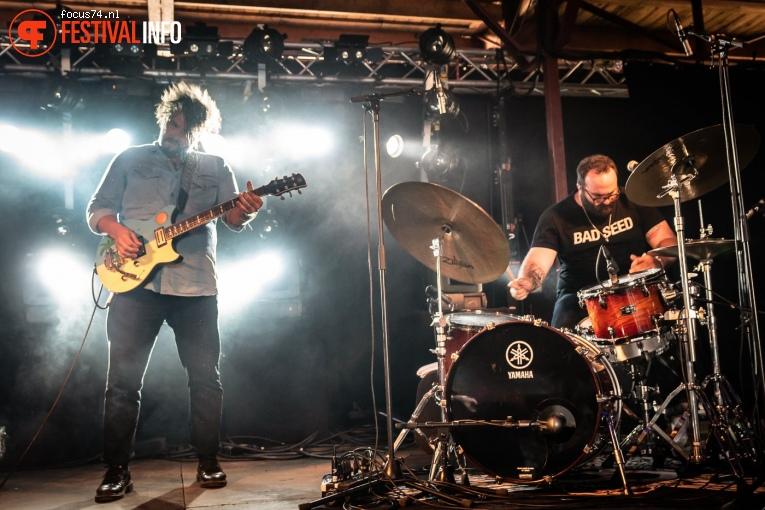 The Graveltones op Zwarte Cross Festival 2019 foto