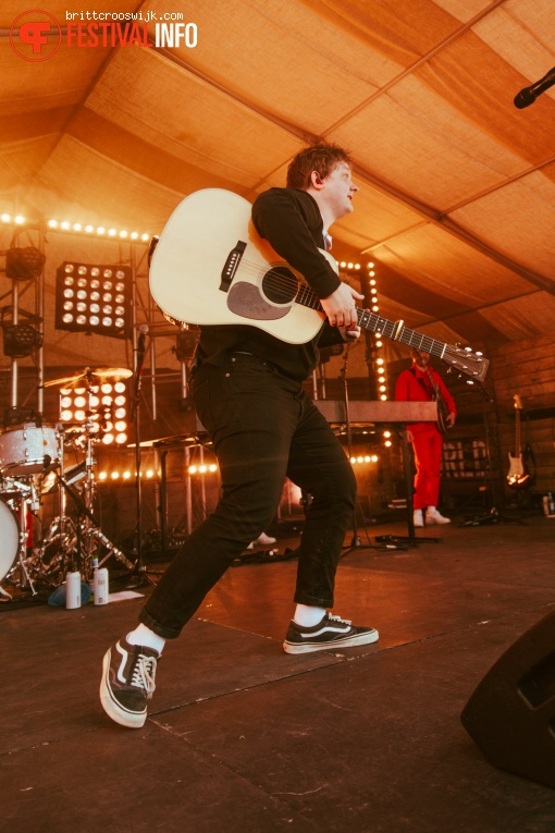 Foto Lewis Capaldi op Barn on the Farm 2019 - Zondag