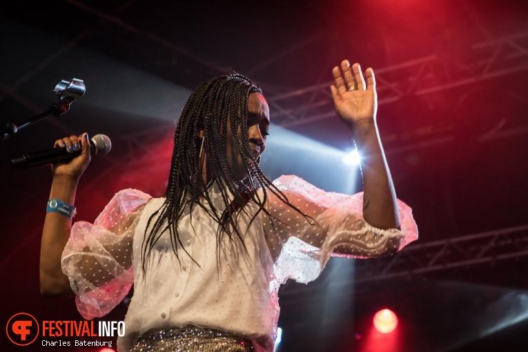 Sabrina Starke op NN North Sea Jazz 2019 - Zondag foto