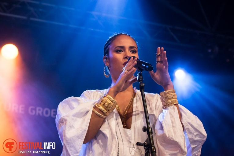 Mayra Andrade op NN North Sea Jazz 2019 - Zondag foto
