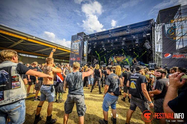 Jungle Rot op Dynamo MetalFest 2019, Vrijdag foto