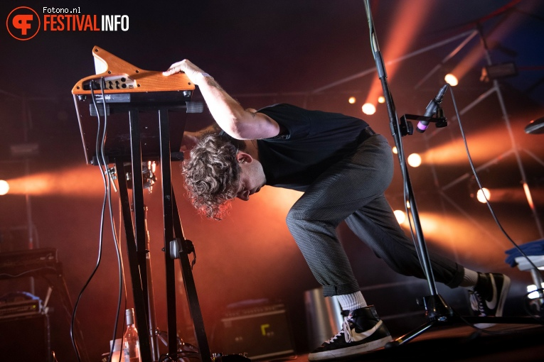 The Soft Moon op Welcome To The Village 2019 - vrijdag foto