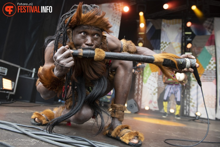 King Ayisoba op Welcome To The Village 2019 - zondag - foto