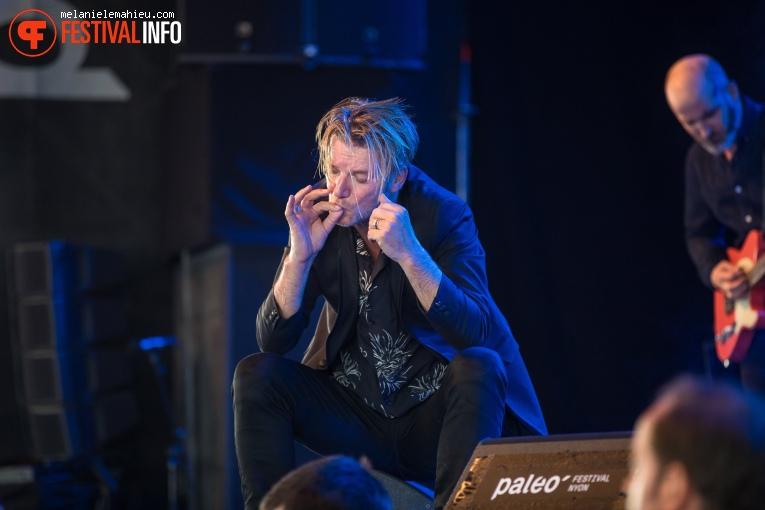 Bertrand Belin op Paléo Festival 2019 foto