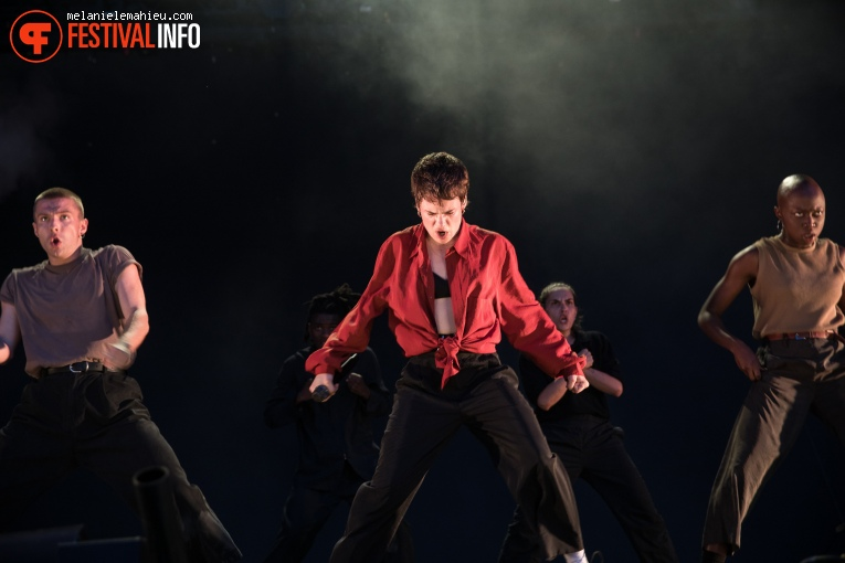 Christine And The Queens op Paléo Festival 2019 foto
