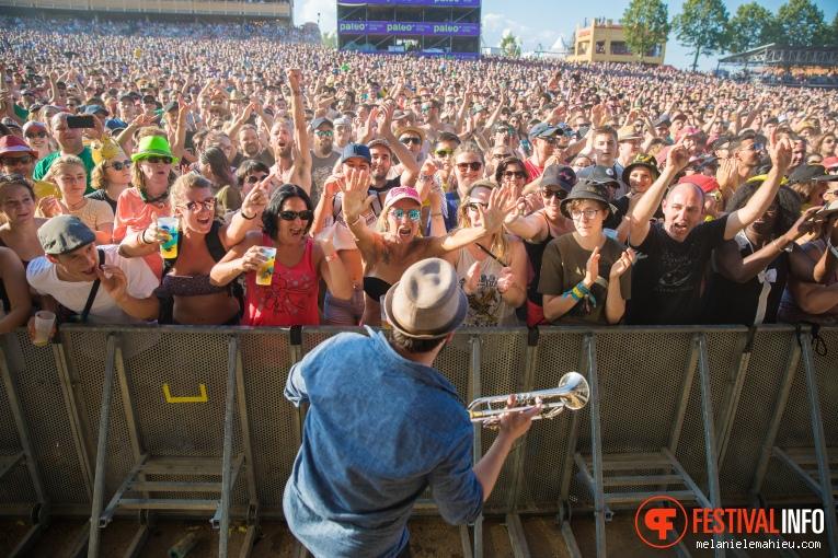Les Cowboys Fringants op Paléo Festival 2019 foto