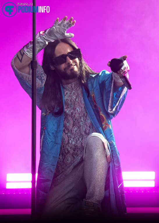 Foto Thirty Seconds to Mars op Thirty Seconds To Mars - 06/08 - NDSM-Werf