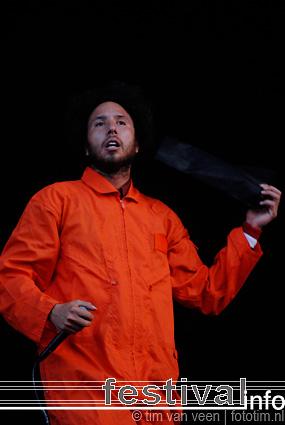Foto Rage Against The Machine op Pinkpop 2008