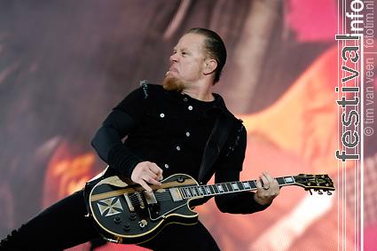 Foto Metallica op Pinkpop 2008