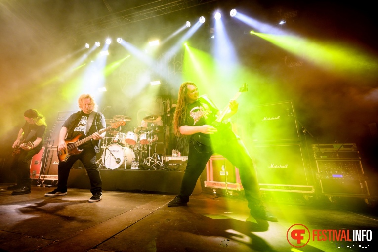 Sacred Reich op Into The Grave 2019, Zaterdag foto