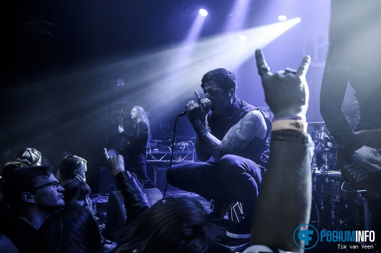 Foto Bleed From Within op Of Mice And Man - 12/8 - de Helling