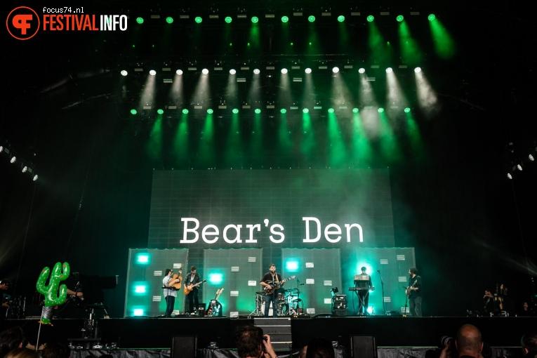 Bear's Den op Lowlands 2019 - Zondag foto