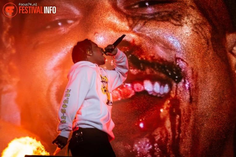 A$AP Rocky op Lowlands 2019 - Zondag foto