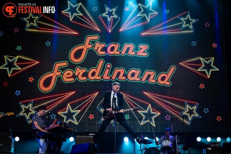 Franz Ferdinand op Lowlands 2019 - Zondag foto