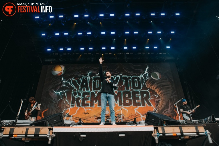 A Day To Remember op Pukkelpop 2019 - zondag foto