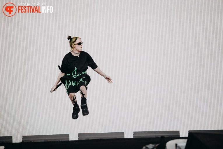 Billie Eilish op Pukkelpop 2019 - zondag foto