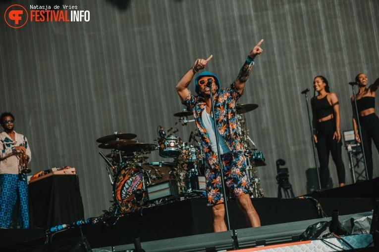 Anderson .Paak & The Free Nationals op Pukkelpop 2019 - zondag foto
